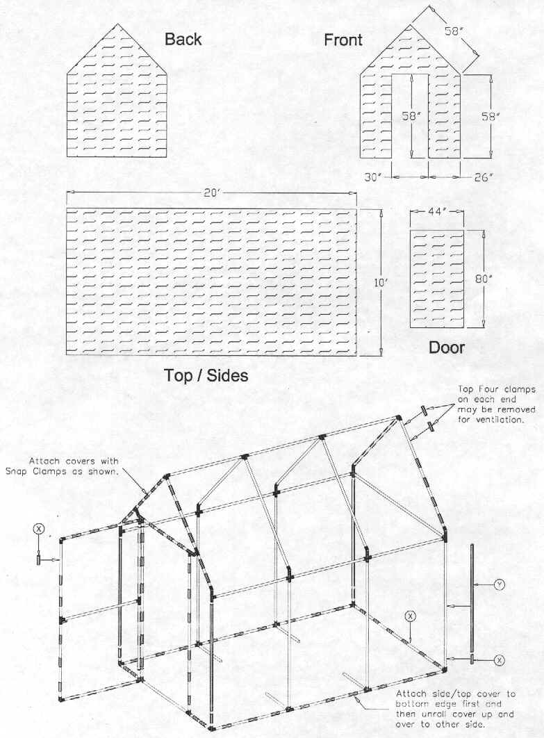 ghplan9 free pvc greenhouse plans,Green House Plans With Photos